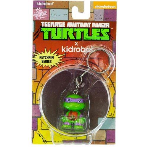 Turtles Donatello Mini Trading Figur Schlüsselanhänger ()