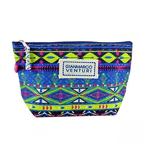 Beauty case, mare, piscina, GMV donna moda mare Blu 44523