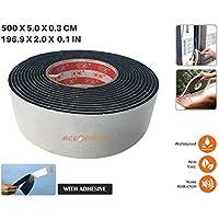 Acepunch Aislamiento Espuma de célula cerrada Burlete Junta para Ventanas y Puertas sello Perfil de goma 500 x 5 x 0.3 cm AP1165