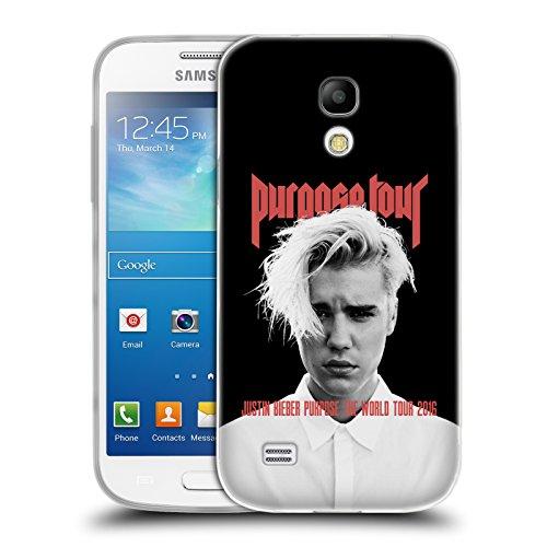 Offizielle Justin Bieber Purpose Poster Tour Merchandise Soft Gel Hülle für Samsung Galaxy S4 mini I9190 (Justin Bieber Samsung Galaxy S4)