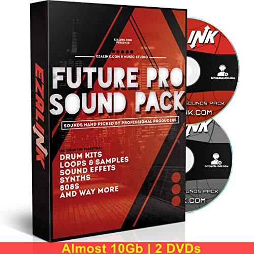 Musik-Sound-Pack: Samples, 808s, Drum Kit, Loops - Zaytoven Hip Hop EDM für Beat Maker MPC FL Studio Logic 10 GB mit kostenloser Software 2019 -