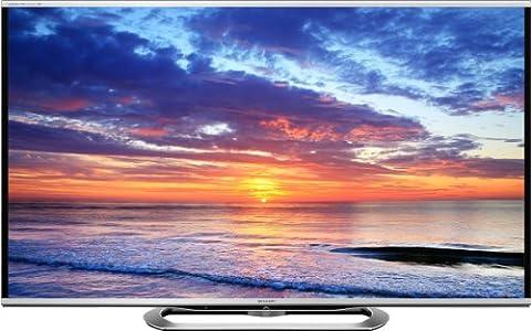 Sharp LC60LE857E 152,4 cm (60 Zoll) Fernseher (Full HD, Triple