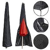 Schutzhülle für Sonnenschirm, Regenschirm Schützende Überdachung Wasserdicht Sonnenschirm Abdeckung, Hülle Ampelschirm