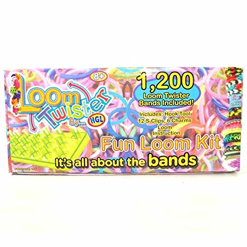LOOM TWISTER Fun Loom Kit 1200 Set (Twister Loom)