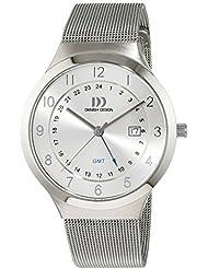 Danish Design - IQ62Q1114 - Montre Homme - Quartz - Analogique - Bracelet Acier inoxydable Argent