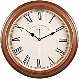 ZHDC® Orologio da parete europea Retro Style Soggiorno muto americano orologi moderno orologio creativo Orologio da tasca orologio al quarzo Home wall clock ( Colore : #2 )