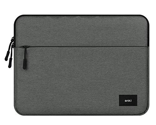 I3542 Dell Laptop (15-15.6 Zoll Laptop Tasche Notebook Hülle Laptophülle Tauchen Stoffe für Macbook Air Pro/Notebook/Surface/Dell Dunkelgrau)
