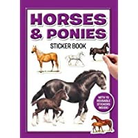 2 x Horses and Ponies Sticker Books