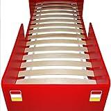 Feuerwehrbett inkl. Lattenrost Deuba - 4