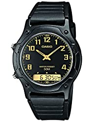 Casio Herren-Armbanduhr Analog - Digital Quarz Resin AW-49H-1BVEF