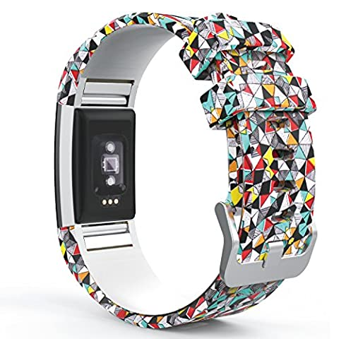 Fitbit Charge 2 Bracelet, MoKo Watch Band de Remplacement ajustable