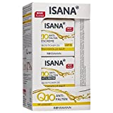 ISANA Q10 Anti-Falten Pflegeset 1 Set bestehend aus Anti-Falten Tagescreme 50 ml, Anti-Falten...
