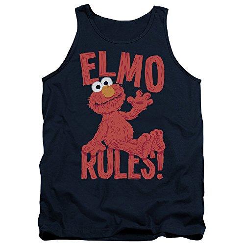 Sesame Street Herren Pullunder Navy