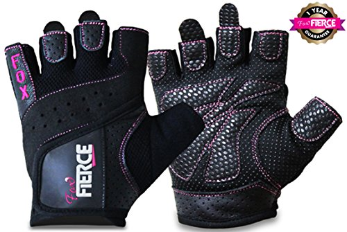 womens-weightlifting-gloves-in-black-or-pink-plus-free-padded-figure-8-lifting-straps-for-powerlifti