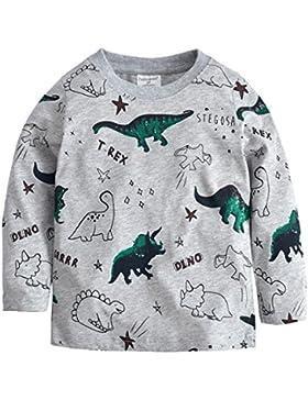 Jungen Langarmshirt Little Hand Cosy Pullover Baumwolle Kinder Sweatshirts 98 104 110 116 122