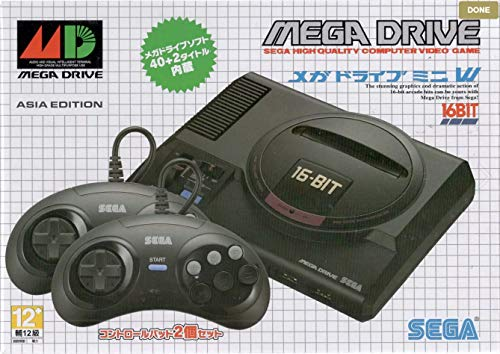 SEGA Mega Drive Mini - Asia Edition (with 2 Controllers)