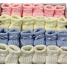Patucos para bebé (talla 0–3meses)