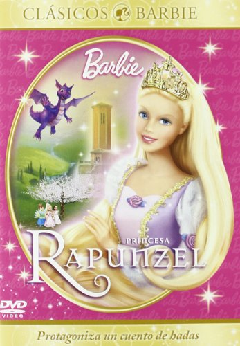 Varios - Barbie Princesa Rapunzel [Import espagnol] (1 DVD) (Barbie Rapunzel Dvd)