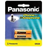 #6: Panasonic rechargable ni-mh aaa rechargable battery for cordless phone and toys (pack of 2 pcs)