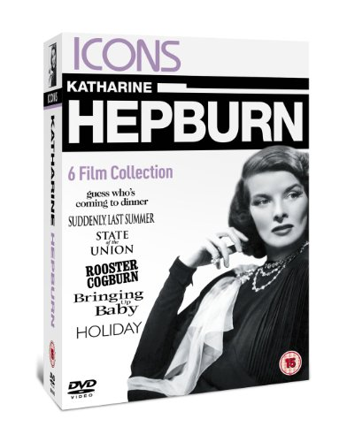 Katherine Hepburn - Rooster Cogburn / State Of The Union / Bringing Up Baby / Guess Whos Coming To D -
