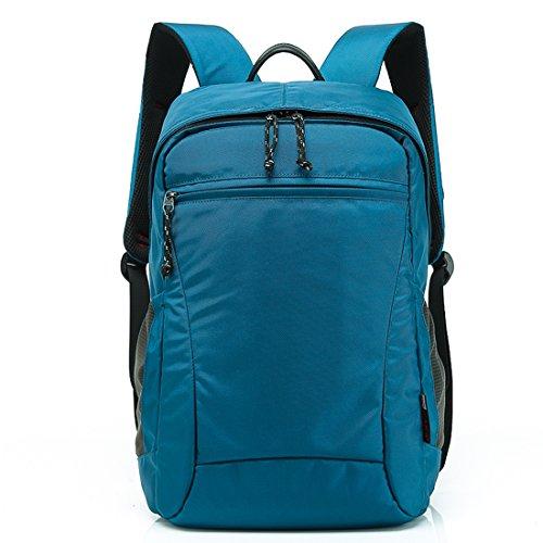 KAXIDY Outdoor Sac Voyage Randonnée à Dos Camping Sac à Dos Sac de Sport Sàc a Dos pour Ordinateur Portable (Bleu)