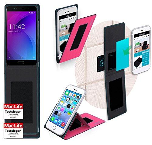 reboon Allview X4 Soul Lite Hülle Tasche Cover Case Bumper | Pink | Testsieger