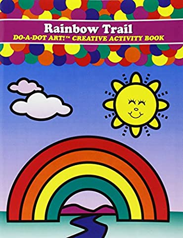 Do-A-Dot 1-Piece Do A Dot Rainbow Trail Activity Book,