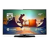 Philips 43PUS6162/12 Fernseher 108 cm (43 Zoll) LED Smart TV (4K UHD, HDR Plus, Smart TV, HDMI, USB, Triple Tuner)