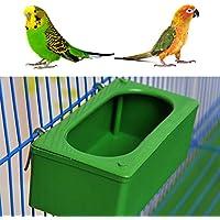 Lunji - Comedero para pájaros, cuenco para alimentar pájaros
