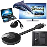 Fleejost New Model For TV HDMI Wireless Display Dongle Mobile To TV Full HD For Android Phone IPhone Windows Phone IPad Laptop Tablet Miracast Chromecast TV Stick
