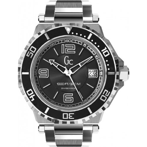 GUESS GC SWISS AUTOMATIC GC-3 DIVER HOMME 44MM DATE MONTRE X79004G2S