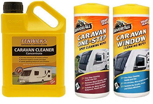 Fenwicks 1 Litre Caravan Cleaner & ArmorAll Spot Cleaning