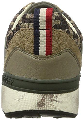 Tommy Hilfiger Herren T2385rack 2c3 Sneakers Beige (Timberwolf 017)