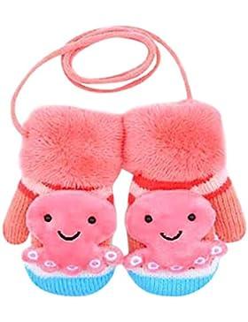 Fuibo Baby Fäustling, Niedliche Cartoon Thicken Hot Infant Baby Mädchen Jungen Winter Warme Handschuhe