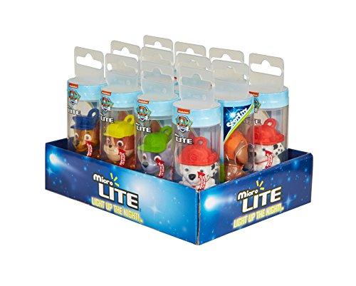 PAW PATROL Taschenlampe Micro Lite Party Bag Füllstoffe (Pack von 12, Mehrfarbig)