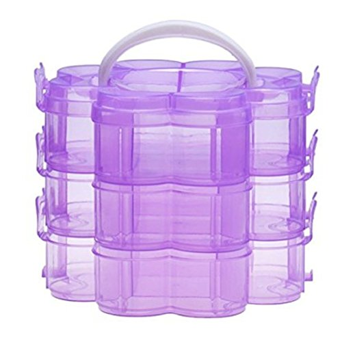 Gemini_mall%C2%AE Stackable Organiser Container Jewellery