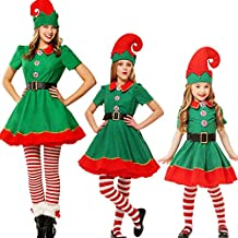 Amazon.it  Costume elfo natale bambino 6971e766f5fc