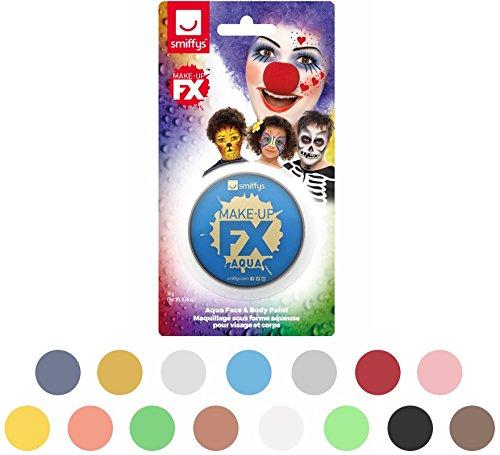 Smiffys 47037 - Kinder Unisex Make-Up, Gesichtswasser und Körperfarbe, Wasserlöslich, 16 ml, rosa