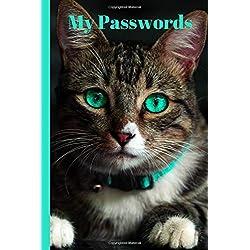My Passwords: Kitty Book