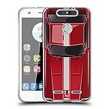 Head Case Designs Speed Rot Klassische Automobile Soft Gel Hülle für ZTE Blade V8 Lite