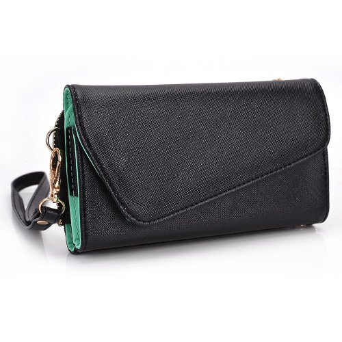kroo-clutch-wallet-with-wristlet-and-crossbody-strap-for-5-smartphone-mint-green
