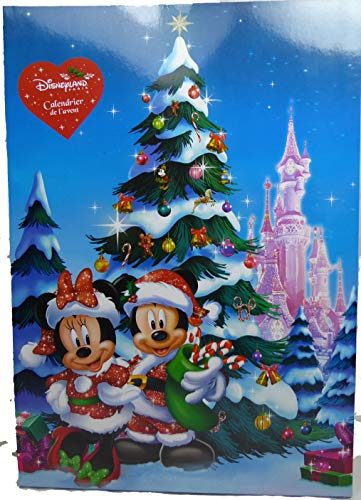 Disney Disneyland Paris Pin Advents Kalender