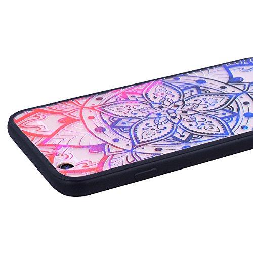 """WE LOVE CASE iPhone 6 Plus / 6s Plus Hülle Schuhe mit Hohen Absätzen Weiß Scheuern Relief Style iPhone 6 Plus / 6s Plus 5,5"""" Hülle Rote Schutzhülle Handyhülle Handytasche Handycover PC Harte Case Anti Mandala"""