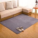 LLQ Soft Modern Area Rugs Living Room Carpet Comfy Bedroom Home Decorate Floor Kids Playing Mat Pads