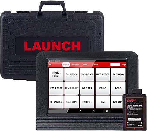 LAUNCH X431 V (X431 Pro) Scanner diagnostico OBD2 bidirezionale, programmazione portachiavi, codifica ECU, freno di spurgo ABS, funzioni di ripristino tra cui ripristino olio, EPB, SAS, DPF, BMS, SRS, TPMS