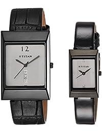 Titan Bandhan Analog White Dial Couple Watch - NE19572957NL01