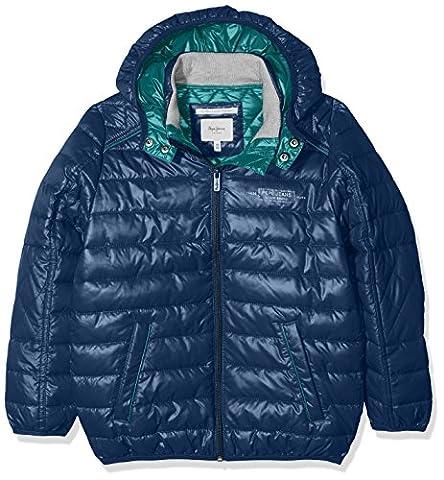 Pepe Jeans Jungen Jacke Noah JR Blau (Ocean), Herstellergröße: 12
