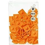 Upixel WY-B001-TE Handtasche aus Leinen, Beige/orange