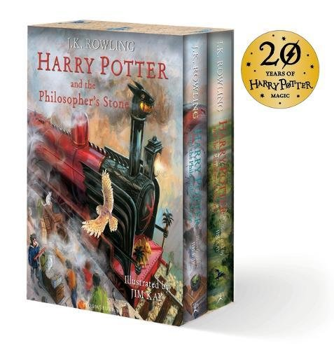 Harry Potter Illustrated Box Set (Hardcover)