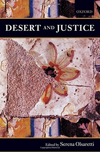 Desert and Justice (Mind Association Occasional Series)